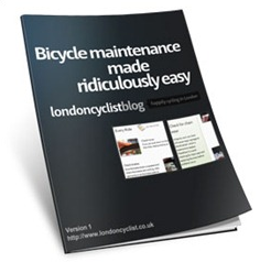 bicycle maintenance ebook cover